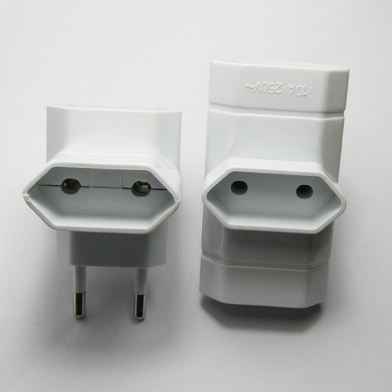 【供应】一转3欧式插头 欧规转换器 欧规适配器