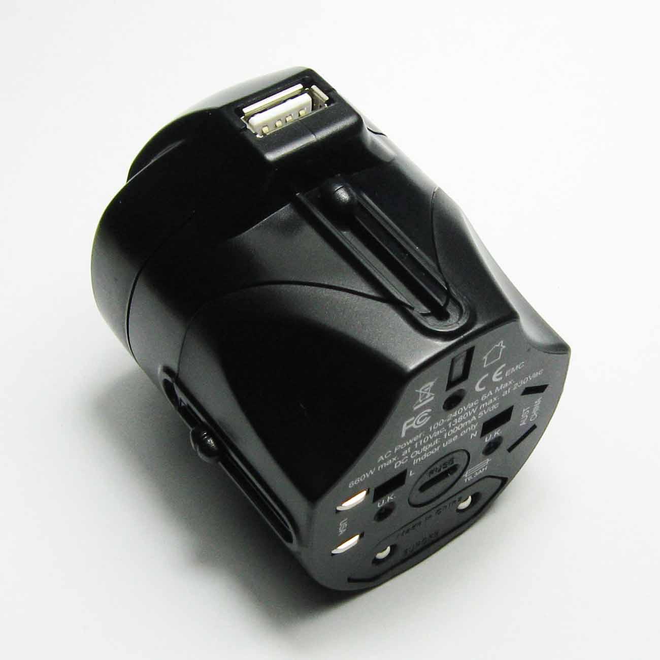 【供应】usb充电器 旅游转换插头 机场酒店礼品 赠品