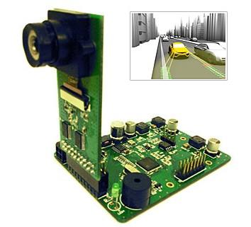 电路板实物图及应用示意图