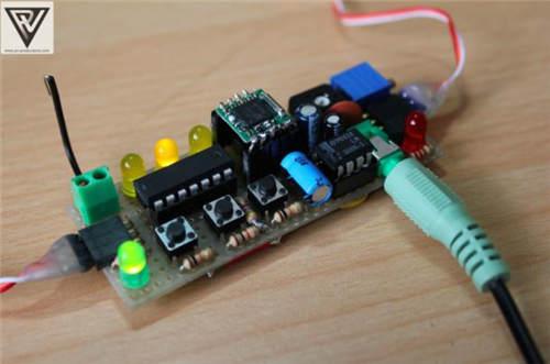 利用littlebits和attiny84打造乐高积木收音机