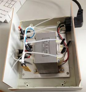 交流变压器设备内部结构实物图