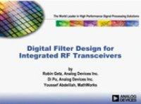 集成式RF收发器的数字滤波器设计